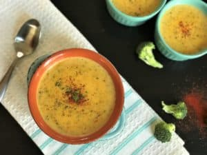 Broccoli Cheddar Soup Instant Pot 5
