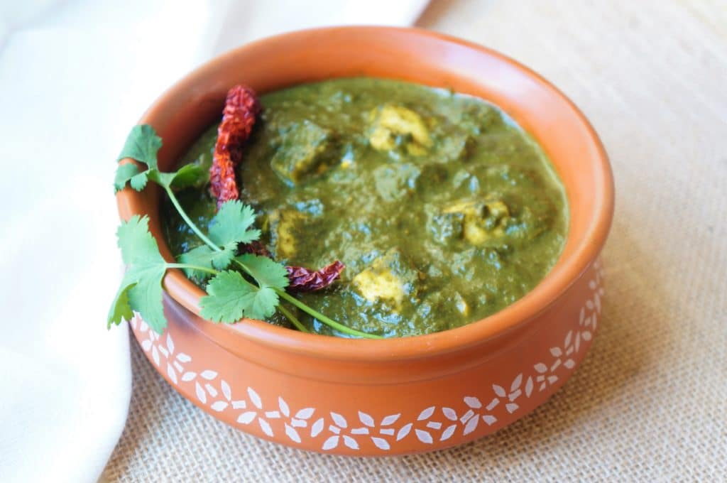 Palak Paneer made in Instant Pot Pressure Cooker