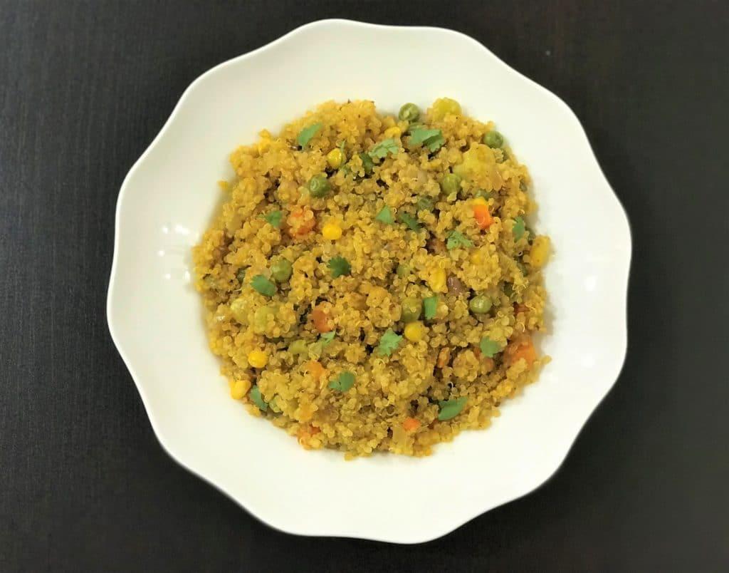 Quinoa Vegetable Pilaf Instant Pot Pressure Cooker