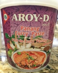 Instant Pot Panang Curry