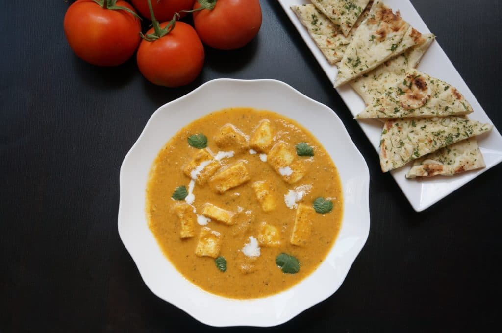 Chunks of paneer or cottage cheese cooked in a mildly spiced tomato gravy. Delicious and very easy to make Paneer Butter Masala in the instant pot