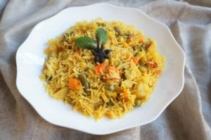 Vegetable Pulao Instant Pot Pressure Cooker
