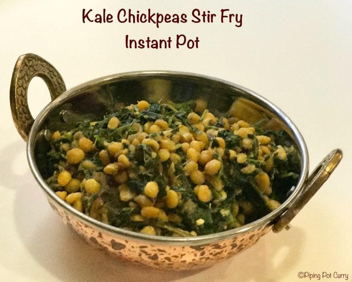 Kale Chana Dal Pressure Cooker