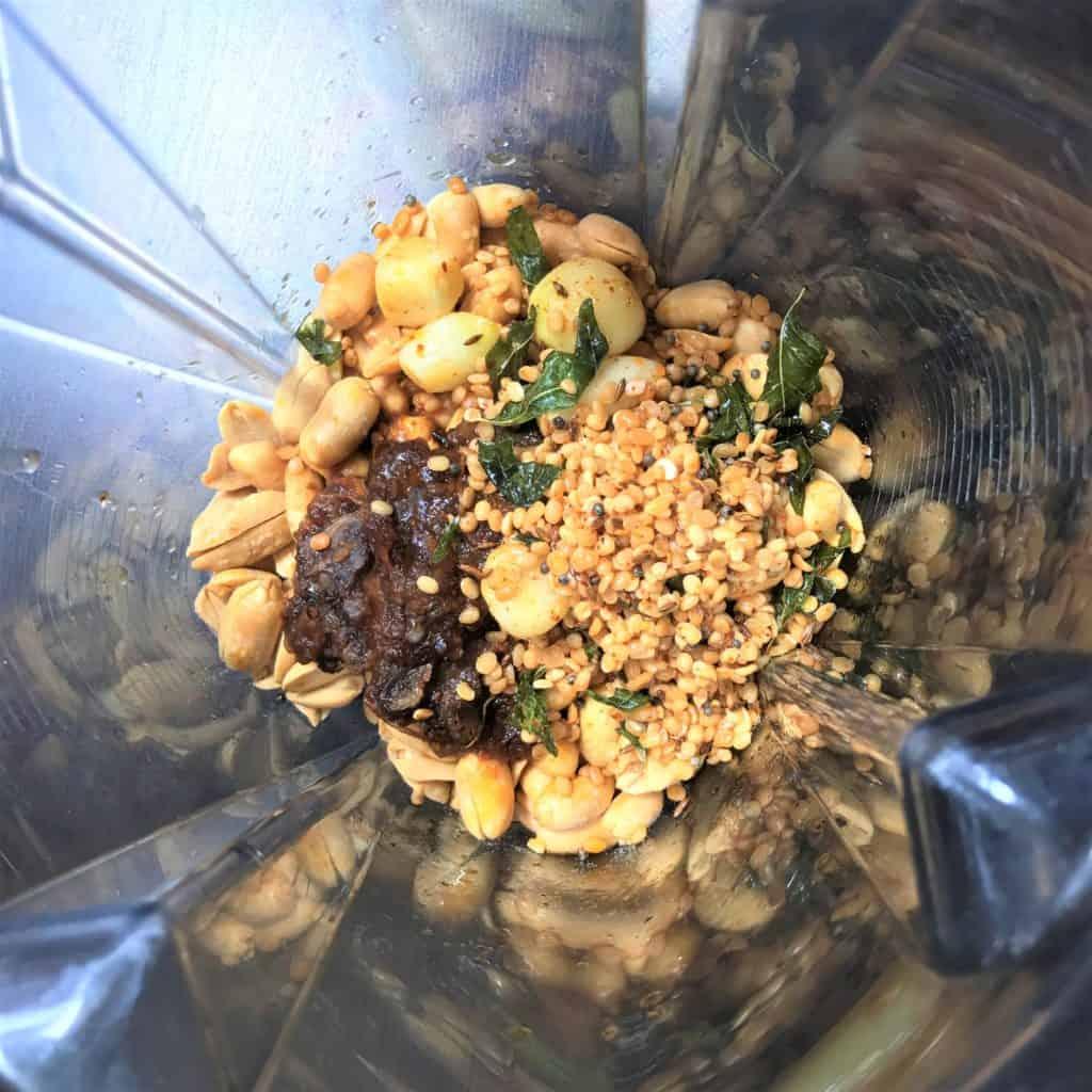 Peanut Chutney Dip Vitamix