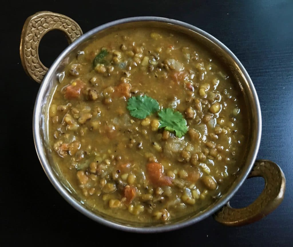 Green Moong Dal Instant Pot Pressure Cooker