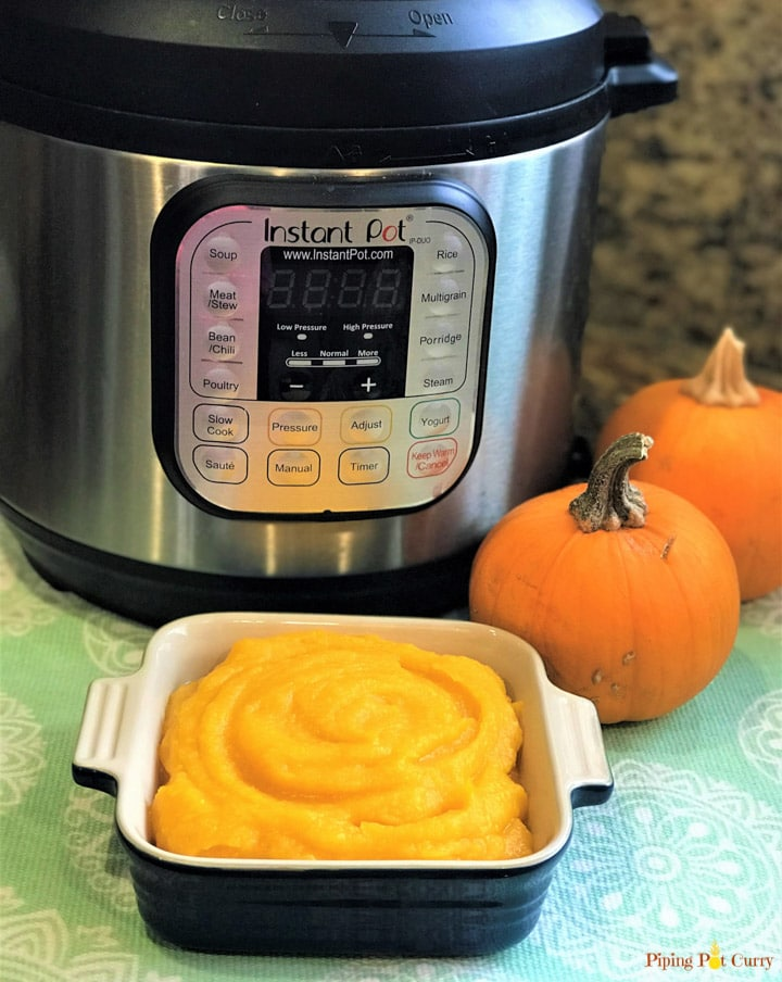 Instant Pot Pumpkin Puree