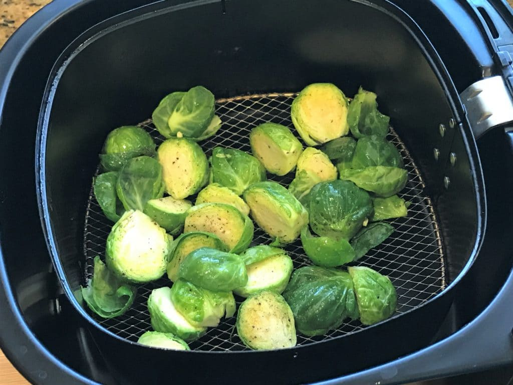 brussels sprouts Seasoned air fryer