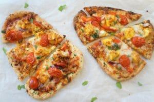 Tandoori Paneer Naan Pizza Air Fryer Oven