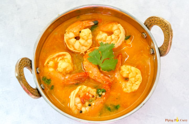Coconut Shrimp Curry Pressure Cooker