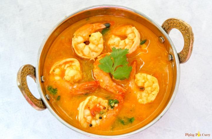 Coconut Shrimp Curry Pressure Cooker