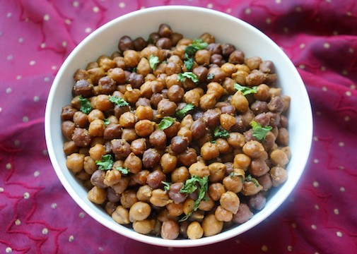 Instant Pot Kala Chana Black Chickpeas