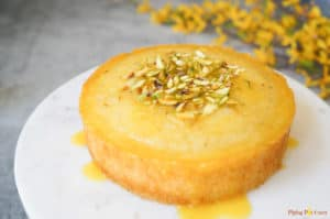 Orange Semolina Cake made in Instant Pot Pressure Cooker