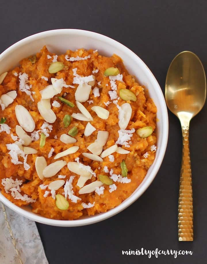 Sweet Potato Halwa Instant Pot Ministry of Curry