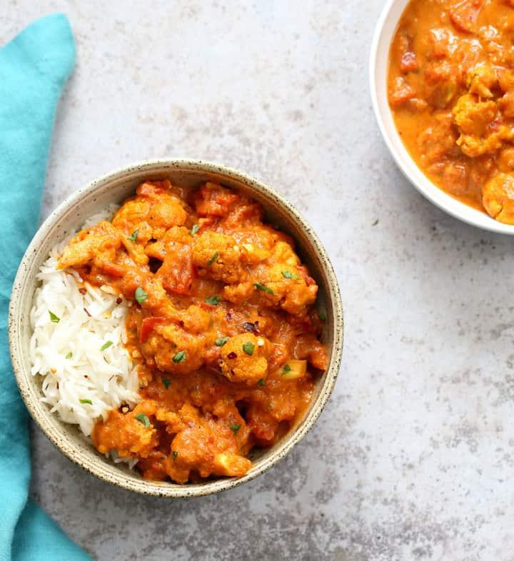 Vegan Richa - Vegan-Tikka-Masala-Sauce-Instant-Pot-Cauliflower-Tikka-Masala-veganricha