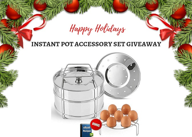 Instant Pot Accessory Set Giveaway for the Holidays