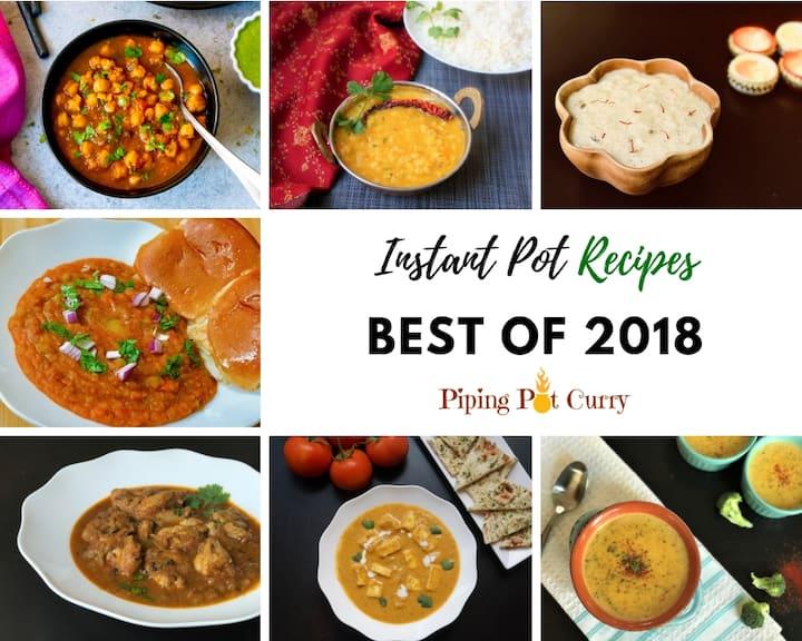 Piping Pot Curry - Top 10 Instant Pot Recipes 2018