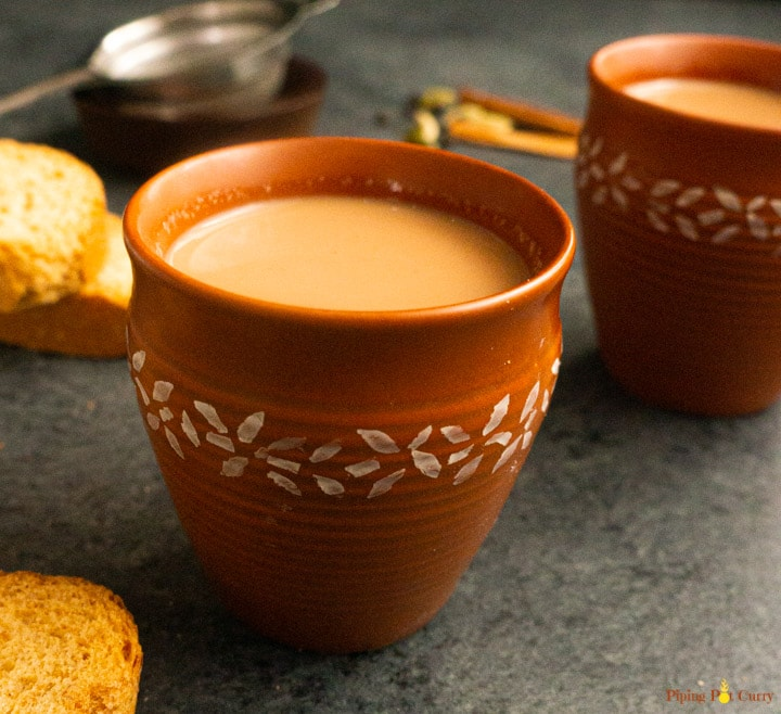 Masala Chai in 2 cups